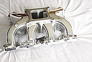 LSX / GM Aluminum Intake Manifold AFTER Chrome-Like Metal Polishing and Buffing Services / Restoration Services