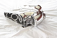 Nissan 350Z Cosworth Aluminum Intake Manifold AFTER Chrome-Like Metal Polishing and Buffing Services / Restoration Services
