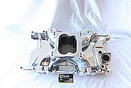 Mopar M-1 Airgap Aluminum Intake Manifold AFTER Chrome-Like Metal Polishing and Buffing Services / Restoration Services
