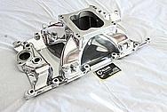 Mopar V8 Aluminum Intake Manifold AFTER Chrome-Like Metal Polishing and Buffing Services / Restoration Services