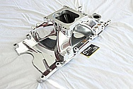 Mopar V8 Aluminum Intake Manifold AFTER Chrome-Like Metal Polishing and Buffing Services / Restoration Services