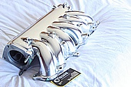 Toyota Supra 2JZ-GTE Aluminum Upper Intake Manifold AFTER Chrome-Like Metal Polishing and Buffing Services / Restoration Services