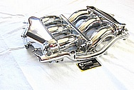 Nissan GTR Aluminum Intake Manifold AFTER Chrome-Like Metal Polishing and Buffing Services / Restoration Services