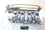 Honda Civic SI Aluminum Intake Manifold AFTER Chrome-Like Metal Polishing and Buffing Services / Restoration Services