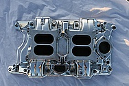 Chrysler V8 Aluminum Intake Manifold AFTER Chrome-Like Metal Polishing and Buffing Services