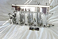 2002 Honda S2000 Aluminum Intake Manifold AFTER Chrome-Like Metal Polishing and Buffing Services / Restoration Services