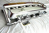 2005 Dodge Viper V10 Aluminum Intake Manifold AFTER Chrome-Like Metal Polishing and Buffing Services / Restoration Services
