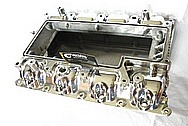Ford GT500 Aluminum Intake Manifold AFTER Chrome-Like Metal Polishing and Buffing Services / Restoration Services