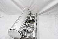 Ross Machine Racinig RMR Aluminum Intake Manifold AFTER Chrome-Like Metal Polishing and Buffing Services / Restoration Services