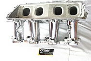 Holley Performance GM EFI Aluminum Intake Manifold AFTER Chrome-Like Metal Polishing and Buffing Services / Restoration Services