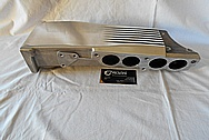 1989 Chevrolet Camaro IROC Z28 Convertible TPI Plenum Setup BEFORE Chrome-Like Metal Polishing and Buffing Services - Aluminum Polishing Services