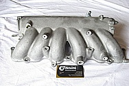 1993-1998 Toyota Supra 2JZ-GTE Upper Aluminum Intake Manifold BEFORE Chrome-Like Metal Polishing and Buffing Services