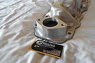 Aluminum Intake Manifold BEFORE Chrome-Like Metal Polishing and Buffing Services - Aluminum Polishing Services