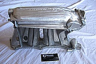 2007 Honda Civic SI Aluminum Intake Manifold BEFORE Chrome-Like Metal Polishing and Buffing Services