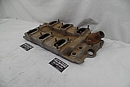 Offenhauser Aluminum Intake Manifold BEFORE Chrome-Like Metal Polishing and Buffing Services - Aluminum Polishing Services