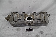 Jeep 4.0L 6 Cylinder Aluminum Intake Manifold BEFORE Chrome-Like Metal Polishing and Buffing Services - Aluminum Polishing