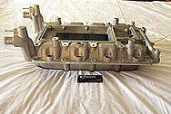 Ford Shelby GT500 Aluminum Intake Manifold BEFORE Chrome-Like Metal Polishing and Buffing Services