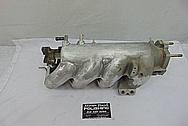 4 Cylinder Aluminum Intake Manifold BEFORE Chrome-Like Metal Polishing and Buffing Services - Aluminum Polishing