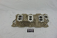 3 Deuce Tri Power Offenhauser Aluminum Intake Manifold BEFORE Chrome-Like Metal Polishing and Buffing Services / Restoration Services - Aluminum Polishing