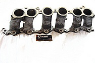 Toyota Supra 2JZ-GTE I6 Turbo Aluminum Lower Intake Manifold BEFORE Chrome-Like Metal Polishing and Buffing Services