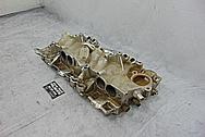 TPI Aluminum Intake Manifold BEFORE Chrome-Like Metal Polishing - Aluminum Polishing