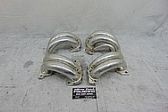 TPI Aluminum Intake Manifold Runners BEFORE Chrome-Like Metal Polishing - Aluminum Polishing