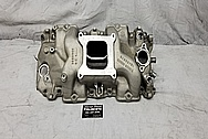 GM Aluminum Intake Manifold BEFORE Chrome-Like Metal Polishing - Stainless Steel Polishing - Aluminum Polishing
