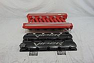 Dodge Viper Aluminum Intake Manifold BEFORE Chrome-Like Metal Polishing - Aluminum Polishing