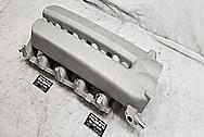 2003 - 2006 Dodge Viper Aluminum Intake Manifold BEFORE Chrome-Like Metal Polishing - Stainless Steel Polishing - Aluminum Polishing