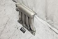 Honda RBC Aluminum Intake Manifold BEFORE Chrome-Like Metal Polishing - Aluminum Polishing