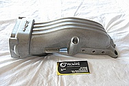 Ford Mustang V8 Aluminum Sullivan Upper Intake Manifold BEFORE Chrome-Like Metal Polishing and Buffing Services