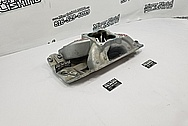 Dart Aluminum 8 Cylinder Intake Manifold BEFORE Chrome-Like Metal Polishing and Buffing Services - Aluminum Polishing