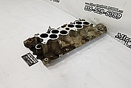 Ford Mustang 5.0L Engine Aluminum Intake Manifold BEFORE Chrome-Like Metal Polishing and Buffing Services - Aluminum Polishing