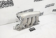 1999 Honda Civic SI Aluminum Intake Manifold BEFORE Chrome-Like Metal Polishing and Buffing Services / Restoration Services - Aluminum Polishing