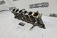 Toyota Supra 2JZ-GTE Aluminum 6 Cylinder Intake Manifold Project BEFORE Chrome-Like Metal Polishing and Buffing Services / Restoration Services - Aluminum Polishing