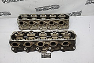 Dodge Viper Aluminum Rough Condition Intake Manifold and Cylinder Head Project BEFORE Chrome-Like Metal Polishing and Buffing Services - Shifter Polishing Services