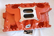 Hemi V8 426 Aluminum Intake Manifold BEFORE Chrome-Like Metal Polishing and Buffing Services