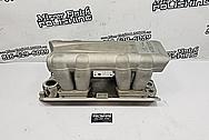 Ram Jet Aluminum Intake Manifold BEFORE Chrome-Like Metal Polishing and Buffing Services - Aluminum Polishing - Intake Polishing