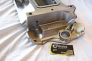 Aluminum Blower Intake Manifold BEFORE Chrome-Like Metal Polishing and Buffing Services