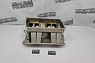 Sheet Metal V8 Intake Manifold BEFORE Chrome-Like Metal Polishing and Buffing Services / Restoration Services - Aluminum Polishing - Intake Manifold Polishing