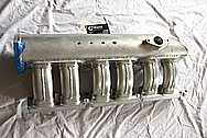 1993 - 1998 Toyota Supra 2JZ-GTE Intake Manifold BEFORE Chrome-Like Metal Polishing and Buffing Services