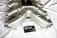Chevrolet Camaro GM LS7 / LSX Aluminum Intake Manifold BEFORE Chrome-Like Metal Polishing and Buffing Services