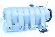 Dodge Hemi 6.1L V8 Aluminum Intake Manifold BEFORE Chrome-Like Metal Polishing and Buffing Services