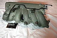 Toyota Supra Aluminum 2JZ-GTE Aluminum Intake Manifold BEFORE Chrome-Like Metal Polishing and Buffing Services