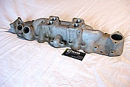 Aluminum V8 Flathead Intake Manifold BEFORE Chrome-Like Metal Polishing and Buffing Services