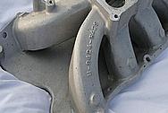 V8 Aluminum Intake Manifold BEFORE Chrome-Like Metal Polishing and Buffing Services