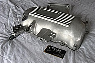 Ford Mustang Cobra Aluminum Intake Manifold BEFORE Chrome-Like Metal Polishing and Buffing Services / Restoration Services