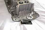 Z3X2 SBC Aluminum Intake Manifold BEFORE Chrome-Like Metal Polishing and Buffing Services / Restoration Services