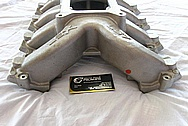 LSX / GM Aluminum Intake Manifold BEFORE Chrome-Like Metal Polishing and Buffing Services / Restoration Services