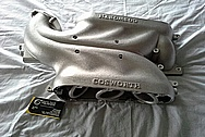 Nissan 350Z Cosworth Aluminum Intake Manifold BEFORE Chrome-Like Metal Polishing and Buffing Services / Restoration Services